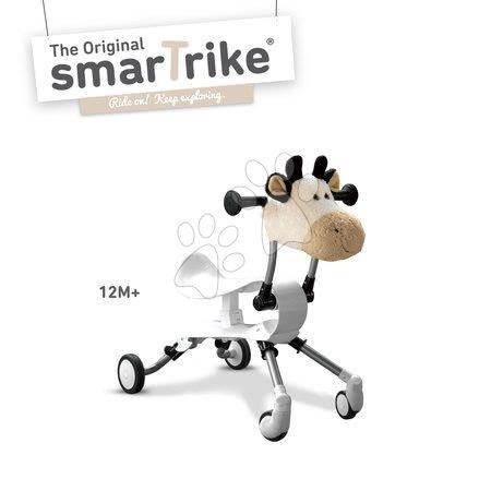 Vozidlá pre deti smarTrike - Odrážadlo Springo Farm kravička smarTrike biele od 12 mes