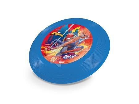Létající talíř Spiderman Mondo modrý 23 cm