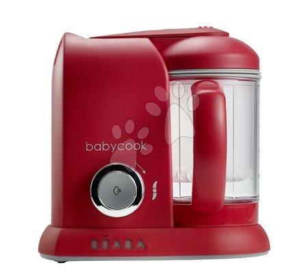 Beaba - Parný varič a mixér Babycook Beaba Babycook®  bordový od 0 mesiacov
