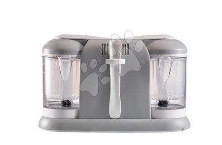 Hračky pre bábätká - Parný varič a mixér Beaba Babycook® Duo Plus šedý dvojitý od 0 mesiacov_1