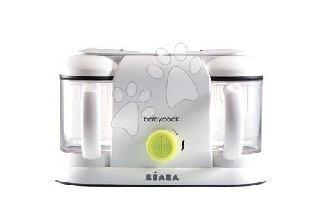 Hračky pre bábätká - Parný varič a mixér Beaba Babycook® Duo Plus neón dvojitý od 0 mesiacov