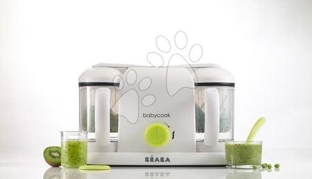 Hračky pre bábätká - Parný varič a mixér Beaba Babycook® Duo Plus neón dvojitý od 0 mesiacov_1