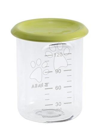 Ételtároló doboz Beaba Baby Portion 120 ml Tritan neon