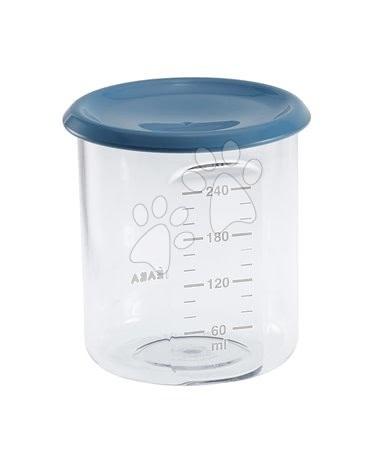 Ételtároló doboz Beaba Maxi Portion 240 ml Tritan kék
