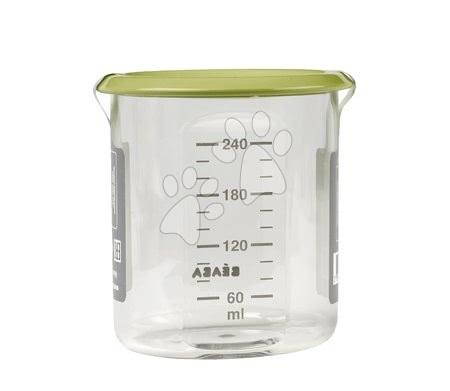 Ételtároló doboz Beaba Maxi Portion 240 ml Tritan neon