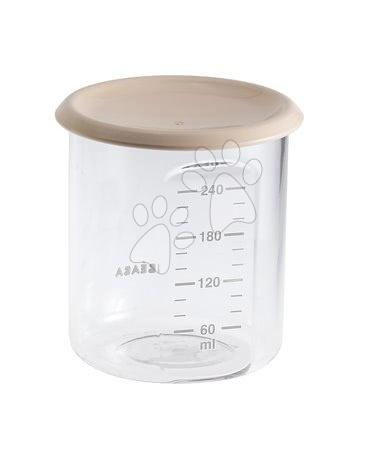 Ételtároló doboz Beaba Maxi Portion 240 ml Tritan rózsaszín