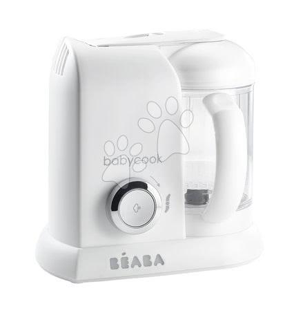 Hračky pre bábätká - Parný varič a mixér Beaba Babycook® Solo bielo-strieborný od 0 mesiacov