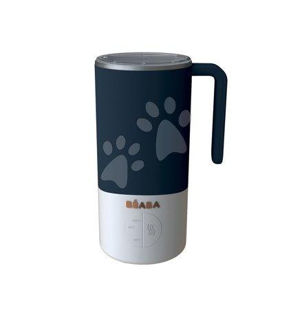 Hrănire și alăptare - Pregătirea laptelui și sterilizator Beaba Milk Prep® 450 ml inox albastru de la 0 luni