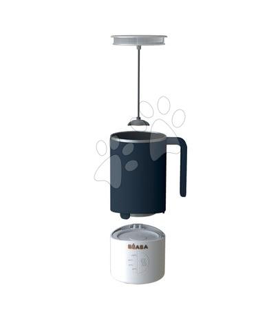 Hrănire și alăptare - Pregătirea laptelui și sterilizator Beaba Milk Prep® 450 ml inox albastru de la 0 luni gri_1