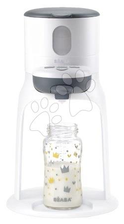Hrănire și alăptare - Pregătirea laptelui Bib'expresso Beaba White Grey și încălzitor de lapte în 30 secunde gri de la 0 luni