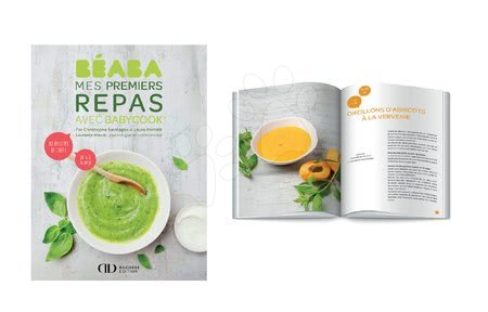 Parní hrnec s mixérem - Kuchařská kniha podle sezóny Beaba v angličtině od 4-24 měsíců 80 ilustrovaných receptů