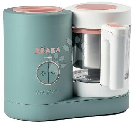 Hračky pre bábätká - Parný varič a mixér Beaba Babycook® Neo Eucalyptus zeleno-strieborná od 0 mes_1