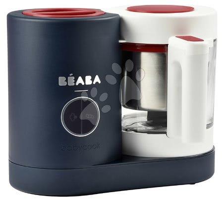 Parný varič a mixér Beaba Babycook® Neo French Touch limitovaná edícia modro-bordová od 0 mesiacov