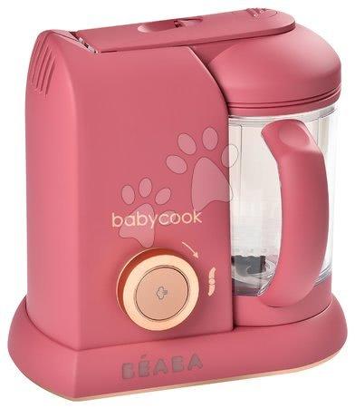 Hračky pre bábätká - Parný varič a mixér Beaba Babycook® Solo Litchee pink-gold od 0 mes