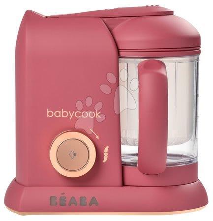 Hračky pre bábätká - Parný varič a mixér Beaba Babycook® Solo Litchee pink-gold od 0 mes_1