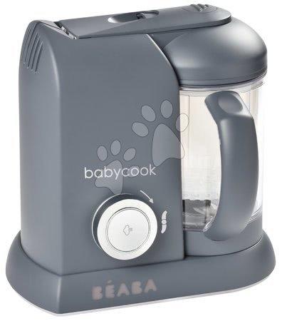 Hračky pre bábätká - Parný varič a mixér Beaba Babycook® Solo Dark Grey od 0 mes