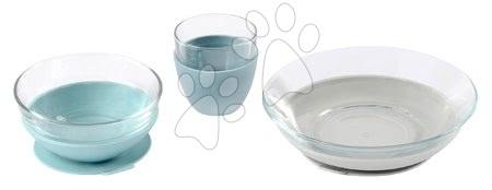 Jídelní souprava ze skla Duralex Jungle Glass Meal Beaba z vysoce kvalitního temperovaného materiálu od 36 měs