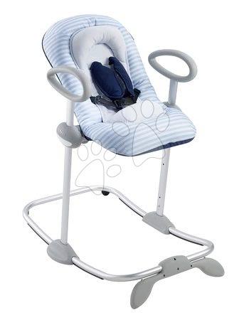 Scaun rabatabil bebe de odihnă Up & Down Bouncer III Blue sailor Beaba 4 înălţimi şi 3 poziţii de la 0 luni