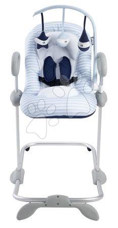 Hračky pre bábätká - Set detské polohovateľné lehátko Up & Down III Blue Beaba od 0 mesiacov a kolotoč nad lehátko Beaba Play modrý_1