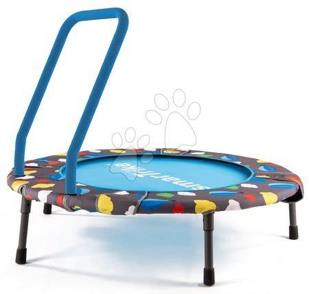 Trampolin za otroke 3v1 Jump smarTrike premer 90 cm z žogicami od 10 meseca