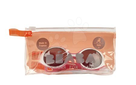 Slnečné okuliare pre deti Beaba Baby S od 0 mesiacov UV filter 3 ružové f7040355bf