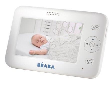 Hračky pre bábätká - Elektronická opatrovateľka Zen + Video Baby Beaba s panoramatickým a infračerveným nočným videním od 0 mesiacov_1