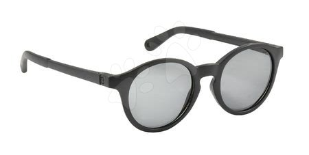 Hračky pre deti od 3 do 6 rokov - Slnečné okuliare pre deti Beaba Baby L Black od 4-6 rokov čierne