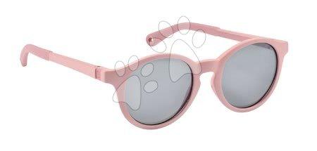 Hračky pre deti od 3 do 6 rokov - Slnečné okuliare pre deti Beaba Baby L Misty Rose od 4-6 rokov ružové