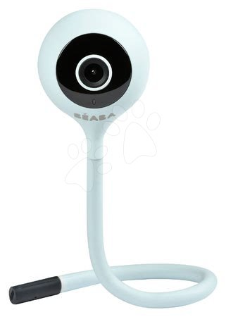Elektronická chůvička New Video Baby monitor ZEN Connect Grey Beaba s napojením na mobil (Android a iOS) s infračerveným nočním viděním