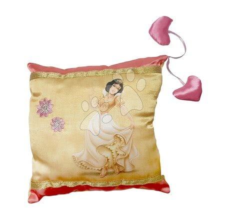 Plišaste blazine - Blazina Sneguljčica v zlati obleki Ilanit 20*20 cm