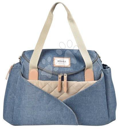 Prebaľovacia taška ku kočíku Beaba Sydney II Heather Blue modrá