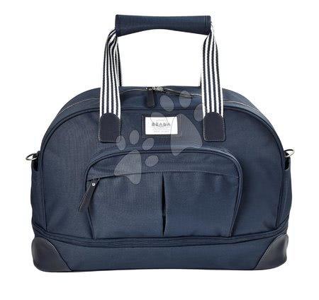 Prebaľovacia taška ku kočíku Beaba Amsterdam II Expandable Blue Marine modrá - 2 veľkosti BE940253