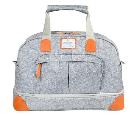 - Previjalna torba za vozičke Beaba Amsterdam II Expandable Travel Changing Bag Tiny Clouds - 2 velikosti