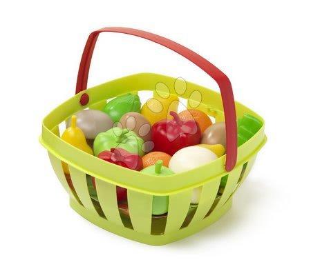 Košík s ovocím a zeleninou Écoiffier od 24 mes