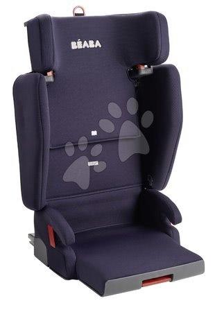 Scaun de mașină pliabil Beaba PURSEAT'FIX grupa 2-3, compact și portabil, V1 Isofix albastru închis