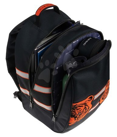 Školski pribor - Školská taška batoh Backpack James Tiger Twins Jeune Premier ergonomický luxusné prevedenie 42*30 cm JPBJ021178_1