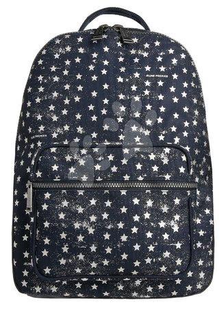 Školski pribor - Školska torba ruksak Backpack Bobbie Stars Silver Jeune Premier ergonomski luksuzni dizajn