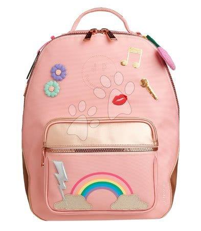 Školski pribor - Školska torba ruksak Backpack Bobbie Lady Gadget Pink Jeune Premier ergonomski luksuzni dizajn 41*30 cm