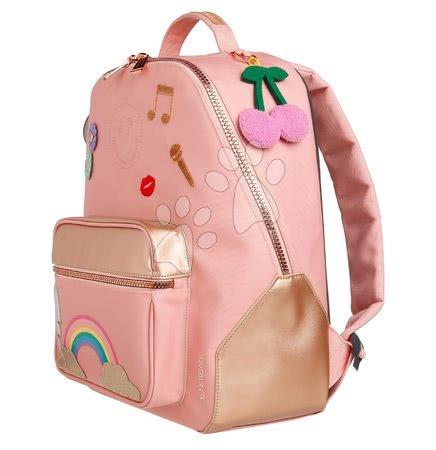 Školski pribor - Školska torba ruksak Backpack Bobbie Lady Gadget Pink Jeune Premier ergonomski luksuzni dizajn 41*30 cm_1