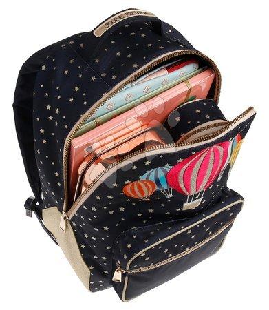 Školski pribor - Školská taška batoh Backpack Bobbie Balloons Jeune Premier ergonomický luxusné prevedenie 41*30 cm_1