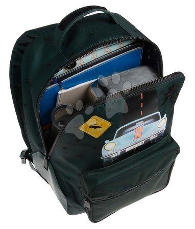 Školski pribor - Školská taška batoh Backpack Bobbie Monte Carlo Jeune Premier ergonomický luxusné prevedenie 41*30 cm JPBO021170_1