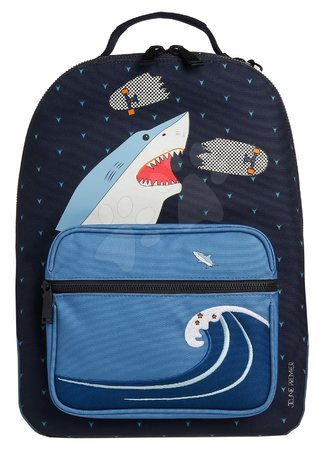 Školski pribor - Školská taška batoh Backpack Bobbie Sharkie Jeune Premier ergonomický luxusné prevedenie 41*30 cm JPBO021174
