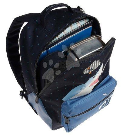 Školski pribor - Školská taška batoh Backpack Bobbie Sharkie Jeune Premier ergonomický luxusné prevedenie 41*30 cm JPBO021174_1