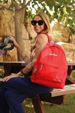 smarTrike - Dámsky športový batoh smarTrike extra ľahký na zips červený_1
