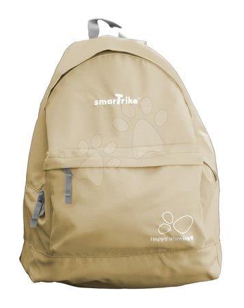 Dámský batoh do města smarTrike extra lehký na zip béžový BP259
