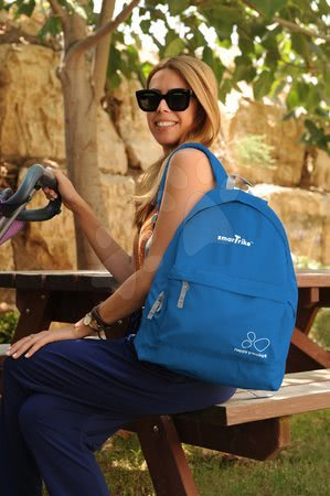 smarTrike - Dámsky batoh smarTrike extra ľahký na zips modrý_1