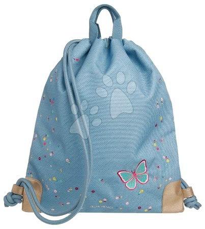 Vrećice za papuče - Školska vrećica za tjelesni i papuče City Bag Flower Power Jeune Premier ergonomska luksuzni dizajn