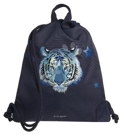Vrećice za papuče - Školska vrećica za tjelesni i papuče City Bag Midnight Tiger Jeune Premier ergonomska luksuzni dizajn