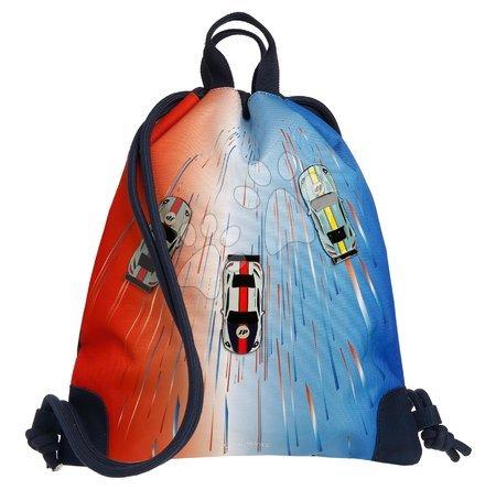 Vrećice za papuče - Školský vak na telocvik a prezúvky City Bag Racing Club Jeune Premier ergonomický luxusné prevedenie 40*36 cm JPCI021171