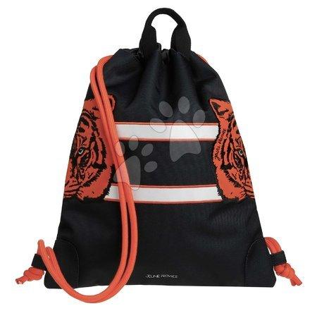 Vrećice za papuče - Školský vak na telocvik a prezúvky City Bag Tiger Twins Jeune Premier ergonomický luxusné prevedenie 40*36 cm JPCI021178